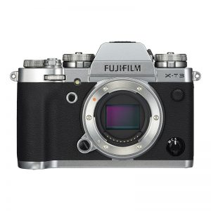 Fujifilm X-T3 kamerahus sølv