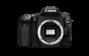 Canon EOS 90D front