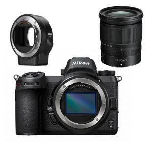 Nikon Z6 + Z 24-70mm f4 + FTZ adapter