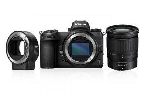 Nikon Z7 + 24-70mm + FTZ adapter