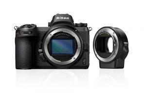 Nikon Z7 kamerahus FTZ adapter